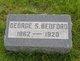 Profile photo:  George S Bedford