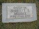 Profile photo:  Harriett E Mosbey