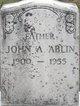 Profile photo:  John A Ablin