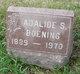 Profile photo:  Adalide S Boening