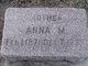Anna M Bartmann