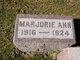 Profile photo:  Marjorie Ann Ericksen