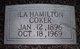 Profile photo:  Ila Elizabeth <I>Hamilton</I> Coker