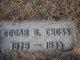 Edgar George Cross