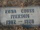 Edna <I>Cross</I> Iverson