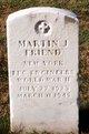 Profile photo:  Martin J Friend
