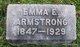 Profile photo:  Emma E <I>Irvine</I> Armstrong