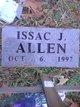 Infant Issac J Allen