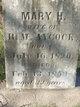 Profile photo:  Mary H. <I>Reynolds</I> Aycock