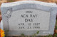 Profile photo:  Aca Ray Day