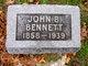 Profile photo:  John B Bennett