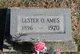 Profile photo:  Lester Oras Ames