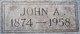 John A. Allan