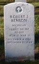 1LT Robert J Benson