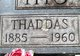 "Profile photo:  Thaddas ""Thad"" Thompson"