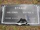 """Martinus N. """"Tunie"""" <I>Rueter</I> Straub"""