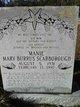 Mary Caroline <I>Burrus</I> Scarborough