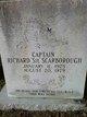 "Capt Richard ""Sie"" Scarborough"