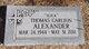 "Thomas Carlton ""Slick"" Alexander"