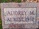 Profile photo:  Audrey Marie <I>Vansickle</I> Armatrout
