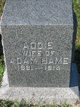 Profile photo:  Addie <I>Boucher</I> Bame