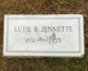 Lutie <I>Boomer</I> Jennette