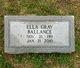 Ella Gray Ballance
