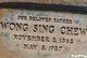 Sing Chew Wong
