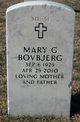Mary Gladys <I>Tayman</I> Bovbjerg