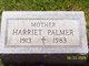 Harriett <I>McGonigle</I> Palmer