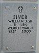 William J Siver, Sr