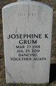 Josephine K Grum