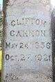 Profile photo:  Clifton Cannon