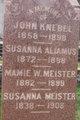 Susanna <I>Meister</I> Aliamus