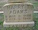 Harry T Adams