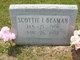 Scottie Inez <I>Stephens</I> Beaman