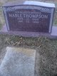 Mable <I>Mayfield</I> Thompson