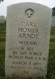 "Profile photo:   Carl Homer "" "" <I> </I> Arndt,"