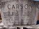 Profile photo:  Albert Herschel Carson