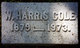 Weymouth Harris Cole