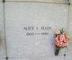 Alice Lillius Allen