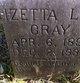 Izetta Lee <I>Quidley</I> Gray