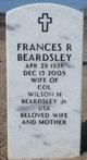 Profile photo:  Frances R Beardsley