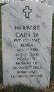 Herbert Cain Sr.