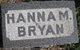Hannah M <I>DeMoss</I> Bryan
