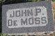 John P DeMoss