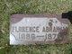 Profile photo:  Florence L <I>Hedwall</I> Abraham