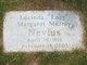 "Lucinda Margaret ""Lucy"" <I>Murray</I> Nevius"