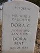 Dora C <I>Ferguson</I> Criner