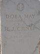 Dora May Criner